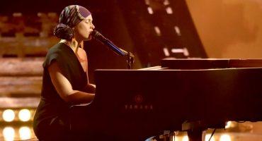 Michael B. Jordan y Zoe Saldaña en el video de la nueva canción de Alicia Keys