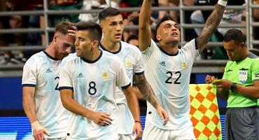 ¡Maldición Albiceleste! Argentina acabó con la racha del 'Tata' con goleada sobre México