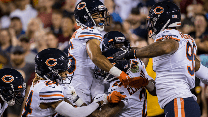 La defensa de Chicago aplastó a los Redskins y Jay Gruden peligra en Washington