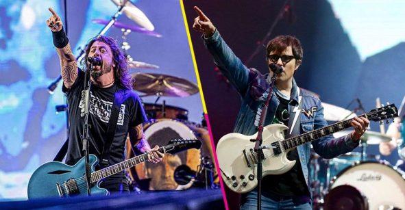 Recordar es volver a vivir: Dave Grohl lloró con el cover que hizo Weezer a 'Lithium' de Nirvana