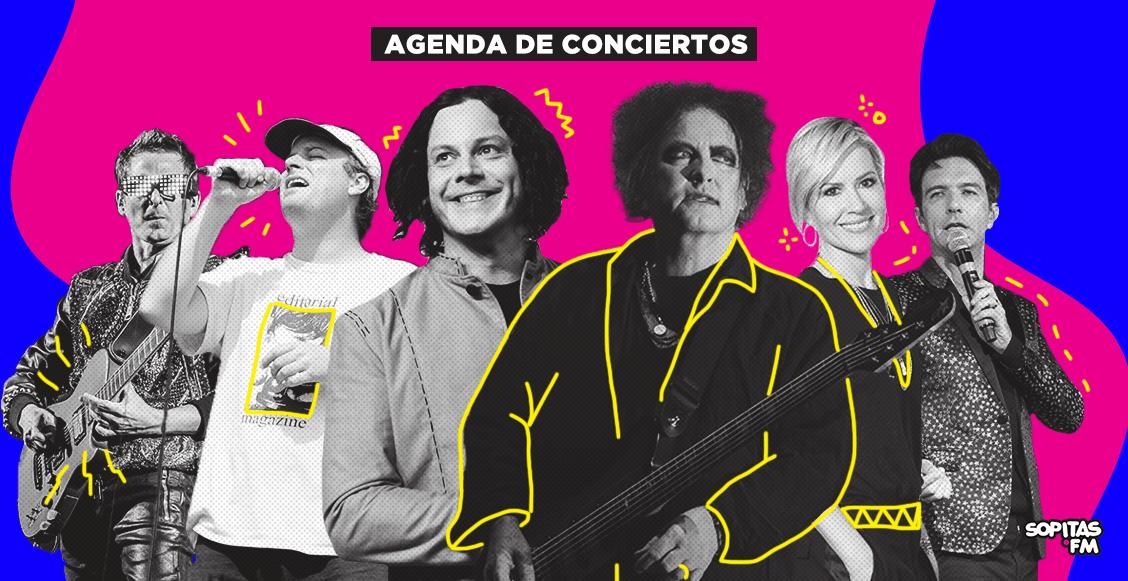 ¡Preparen las carteras! Estos son los conciertos que nos esperan en lo que resta del 2019