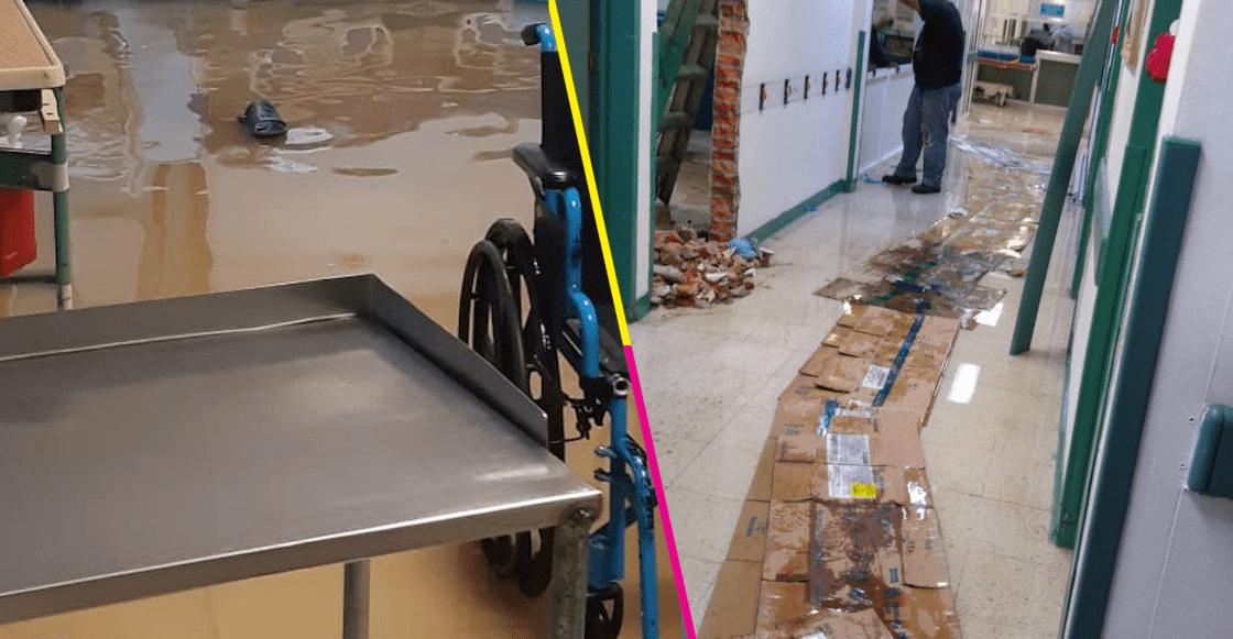 Ecatepec-inundación-hospital-José-Maria-Rodríguez