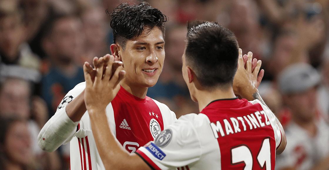 ¡Otro del 'Machín'! Revive el gol de Edson Álvarez al Lille en la Champions League