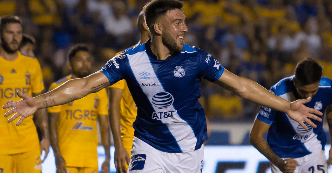 El gol de Cavallini con el que Puebla le pegó a Tigres en el Volcán