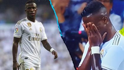 Vinícius Júnior rompió en llanto tras marcarle este golazo al Osasuna