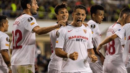 ¡GOLAZO! Revive el primer gol del 'Chicharito' con el Sevilla