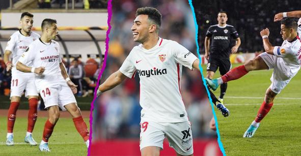 Titular, 71', gol y triunfo: Así le fue al 'Chicharito' y al Sevilla en la Europa League