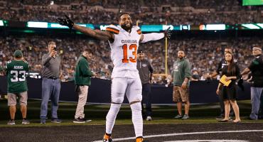 El explosivo touchdown de 89 yardas de Odell Beckham Jr. en el triunfo de los Browns sobre los Jets