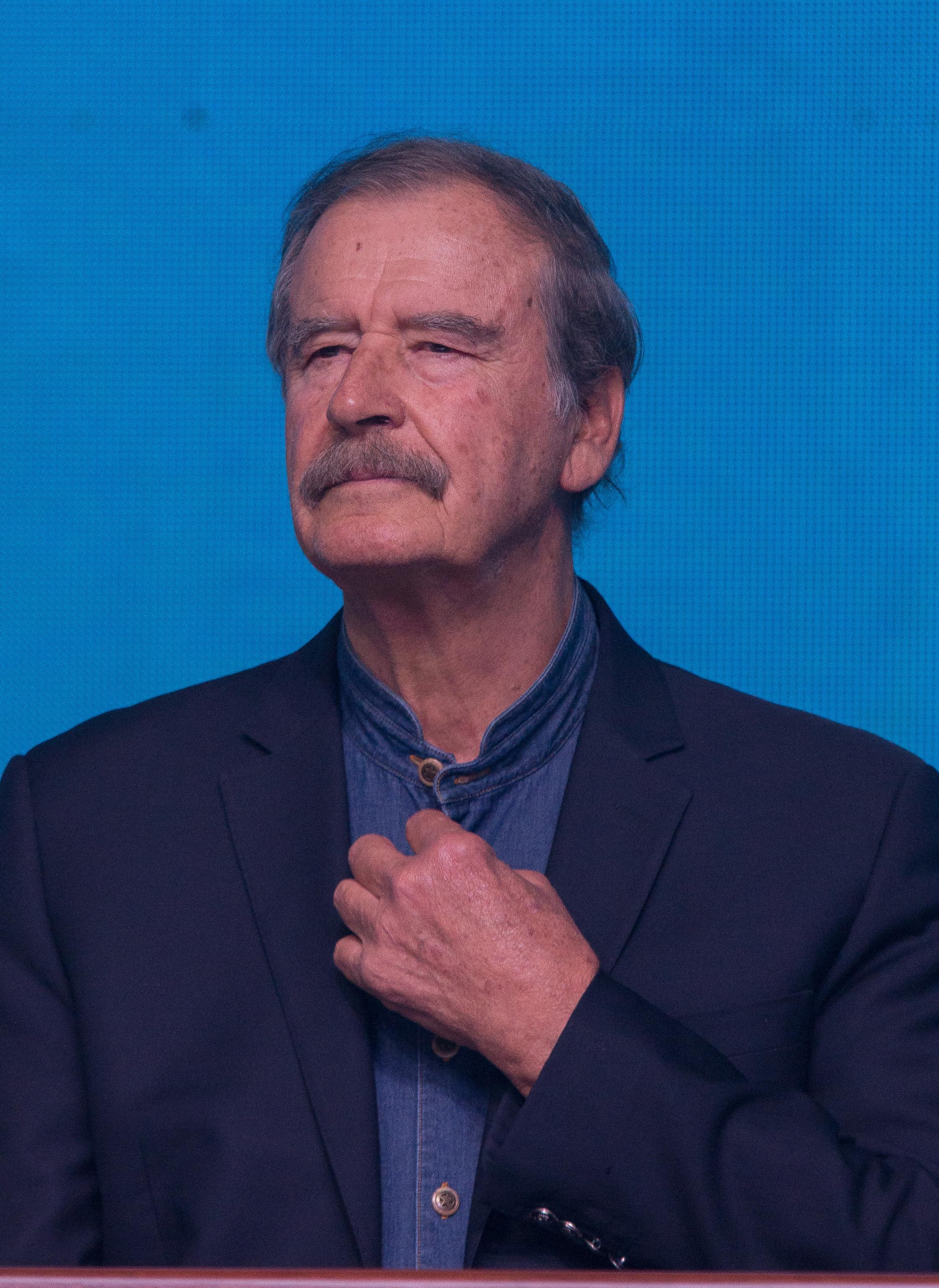 """Vicente Fox llama a las fuerzas políticas de la oposición para """"darle en la madre"""" a la 4T"""