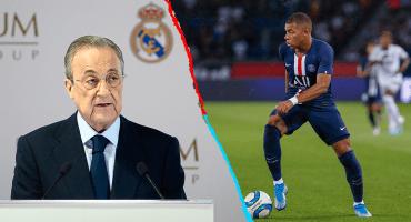 ¡Puuuum! Florentino aceptó que el Real Madrid irá por Mbappé