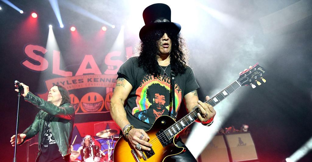 Slash niega colaboración en Terminator... ¡pero da pistas del nuevo álbum de Guns N' Roses!
