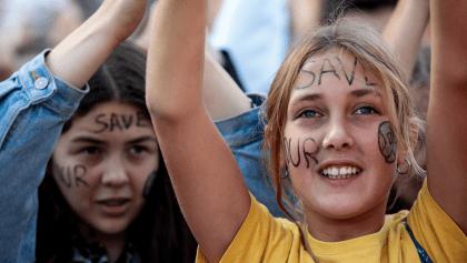 En imágenes: Así se vive la Huelga Mundial por el Clima en Europa y Estados Unidos