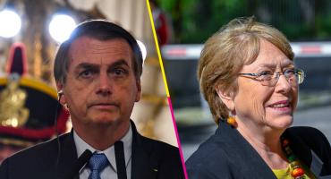Bolsonaro arremete contra Michelle Bachelet y celebra la dictadura en Chile