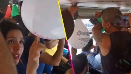 ¡Mexicanos Unidos! Pasajeros de microbús realizan homenaje improvisado para José José