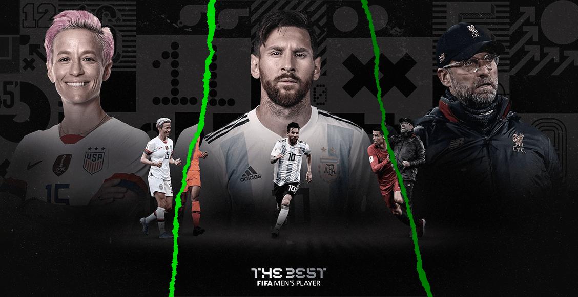 Rapinoe, Messi, Klopp, Neville y todos los finalistas a los premios The Best