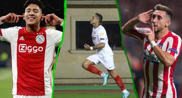 'Chicharito', 'HH' y Edson: Van los goles mexicanos en el regreso de Champions y Europa League