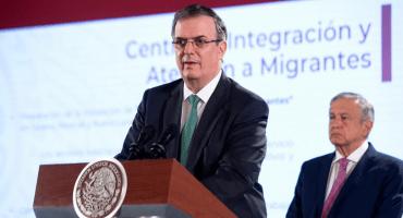 ¿Qué hay del plan de Migración? Ebrard asegura que México redujo el flujo migratorio en un 56%