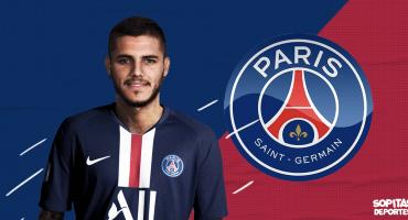 ¡Bombazo parisino! Mauro Icardi es nuevo jugador del PSG