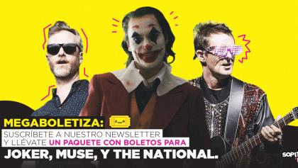 ¡Ya llegó la megaboletiza con boletos DOBLES para 'Joker', Muse y The National!