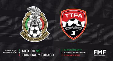 ¡Todos al Nemesio! México enfrentará a Trinidad y Tobago en Toluca
