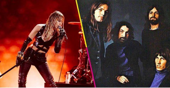 ¿Rockstar? Miley Cyrus hizo un cover de 'Comfortably Numb' de Pink Floyd