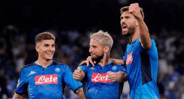 Atajadón de Adrian, 'Chucky' 69, Mertens y Llorente: Napoli le pegó al campeón Liverpool