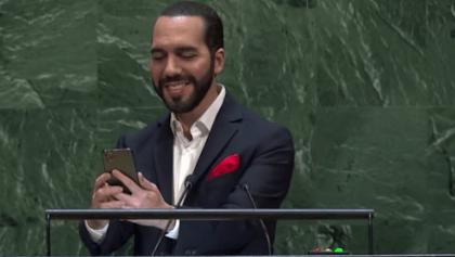 Presidente de El Salvador dice que toma hidroxicloroquina por si las moscas