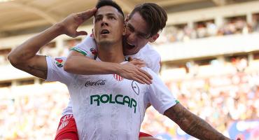 Necaxa hiló tercera victoria como visitante y vuelve a ser líder del Apertura 2019