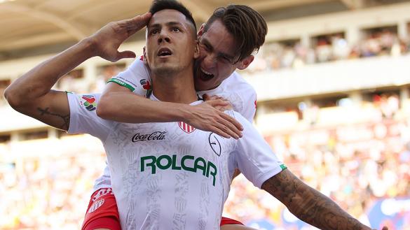 Necaxa hiló tercer victoria como visitante y vuelve a ser líder del Apertura 2019