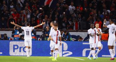Con dos de su ex: PSG goleó al Real Madrid sin Neymar, Mbappé ni Cavani