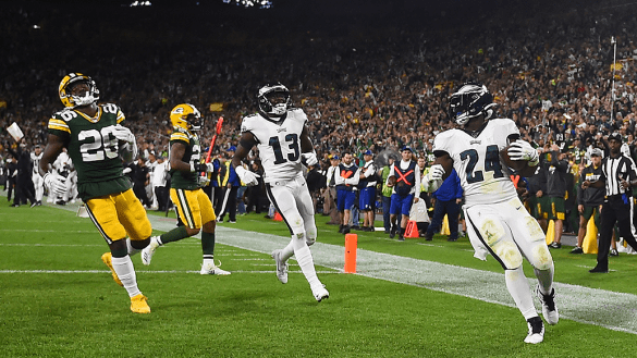 ¡Ya son 7! Philadelphia terminó con el invicto de los Packers