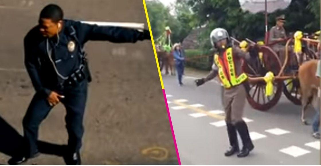 ¿Agente Carter eres tú? Un policía baila mientras dirige el tráfico en Tailandia y se vuelve viral