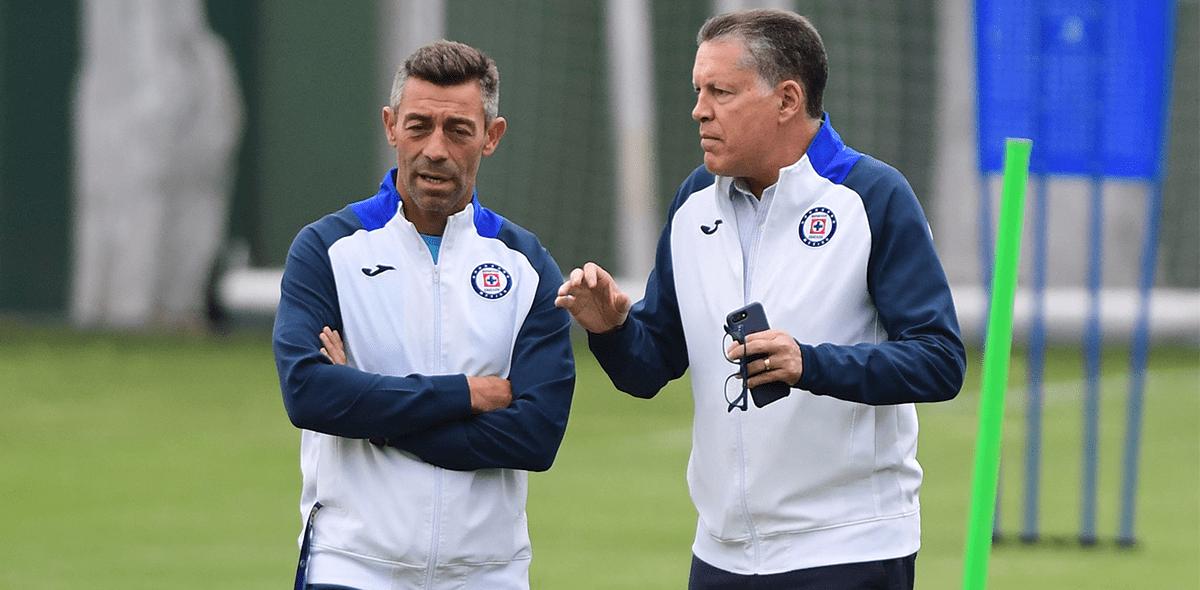 """""""Mi renuncia está puesta"""": Ricardo Peláez se hará a un lado de Cruz Azul"""