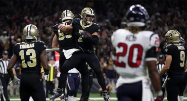 Saints remontaron a los Texans en gran noche de Brees y Watson