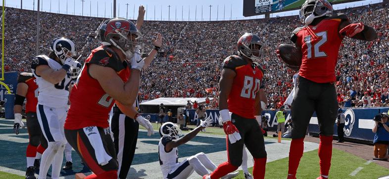 ¿La sorpresa del año? 'Bucs' terminan con el invicto de los Rams en Los Ángeles