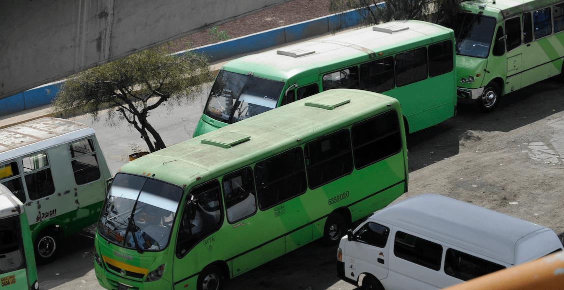 ¡Ojo! Estas son las 16 rutas de transporte público más peligrosas en CDMX