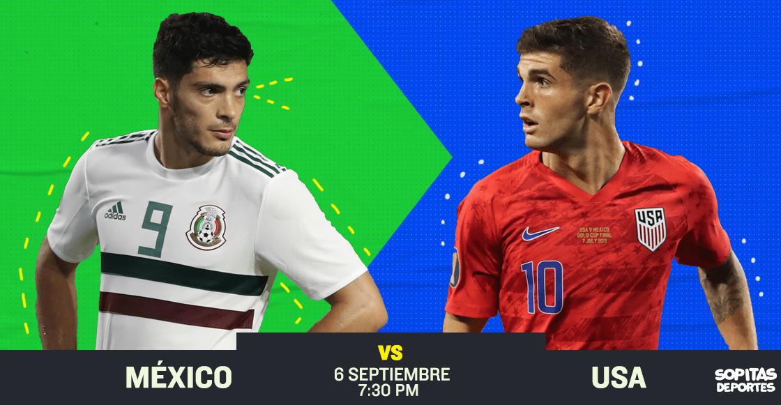 ¿Cómo, cuándo y dónde ver en vivo el Estados Unidos vs México?
