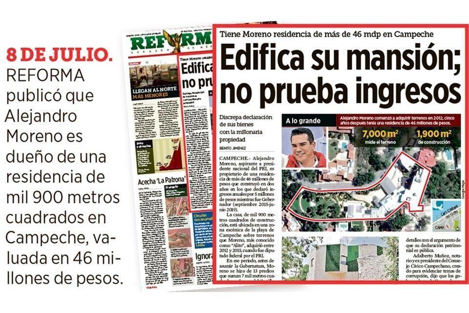 FGR investiga a líder del PRI por adquirir 16 inmuebles en Campeche