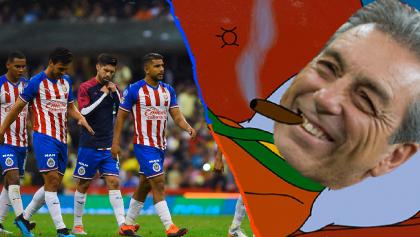 Las Chivas también fueron humilladas en el clásico de los memes