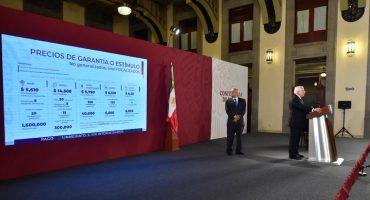 AMLO anuncia precios de garantía al maíz y al frijol a partir de octubre