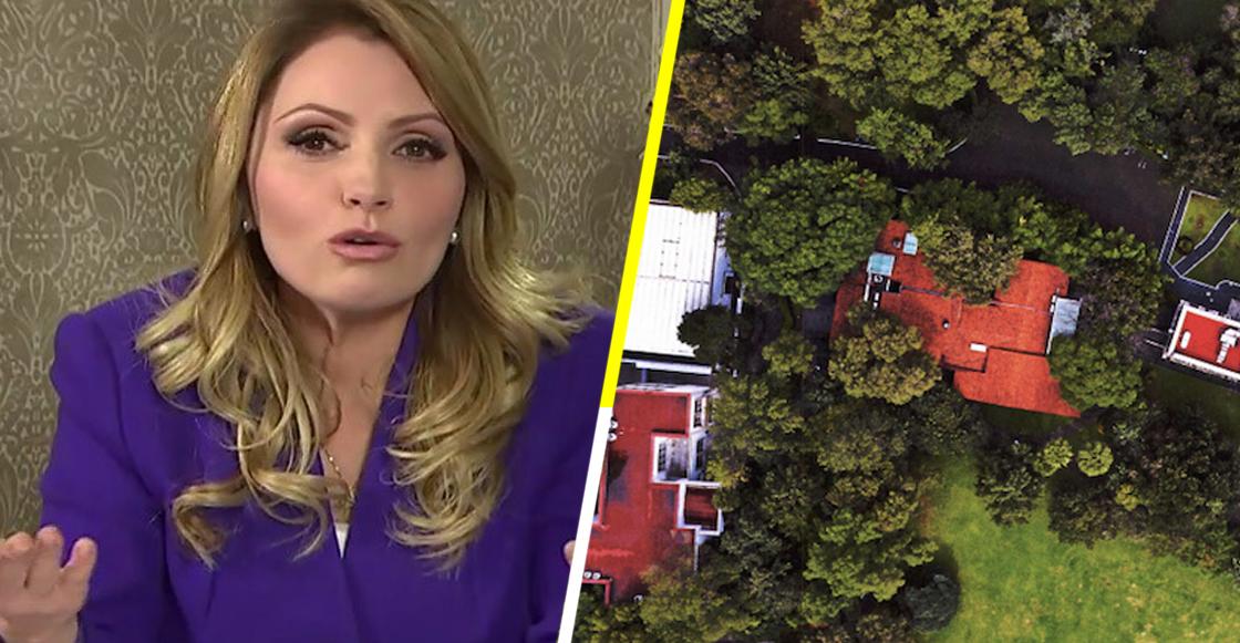 Hasta con pisos de mármol: Revelan la lujosa mansión que Angélica Rivera tuvo en Los Pinos