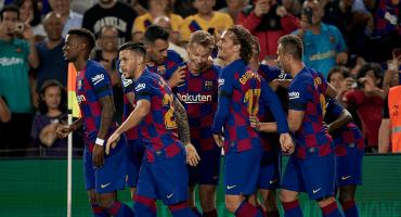 Los goles de Ansu Fati y Luis Suárez en la cátedra del Barcelona ante Valencia