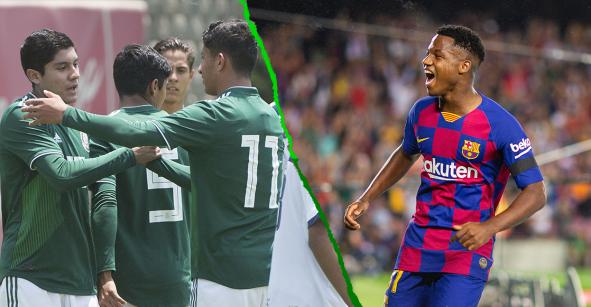 Lo que debe pasar para que México enfrente a Ansu Fati en el Mundial Sub 17