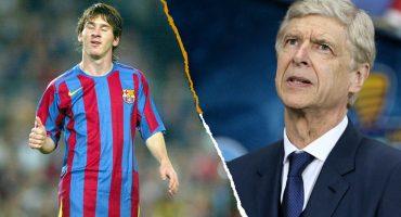 ¡Arsene Wenger intentó fichar a Lionel Messi cuando era DT del Arsenal!