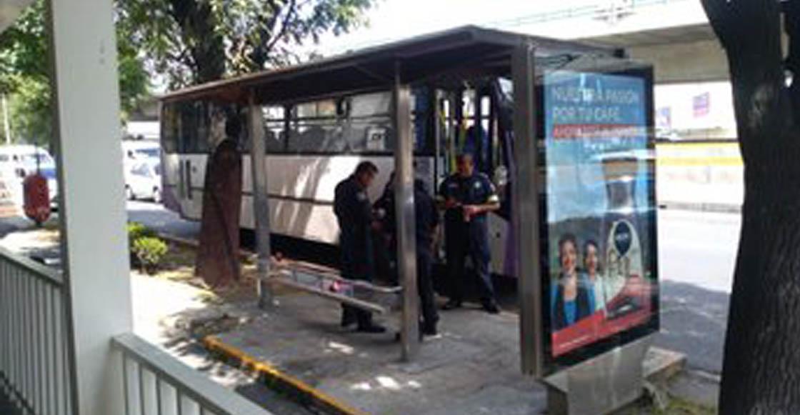 Muere mujer tras balacera en autobús que circulaba por Periférico Norte