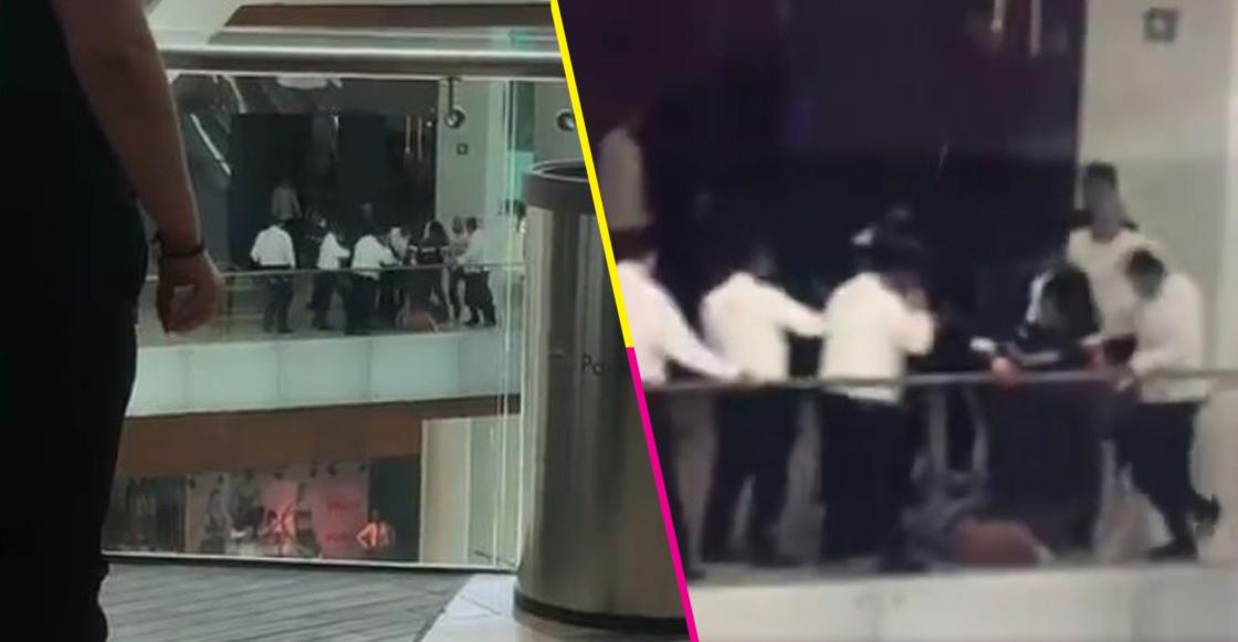 Personal de Parque Duraznos, en CDMX, detienen a asaltante y le dan golpiza