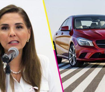 ¡Ah jijo! Familia de alcaldesa en Q. Roo compra autos de lujo al chaz-chaz
