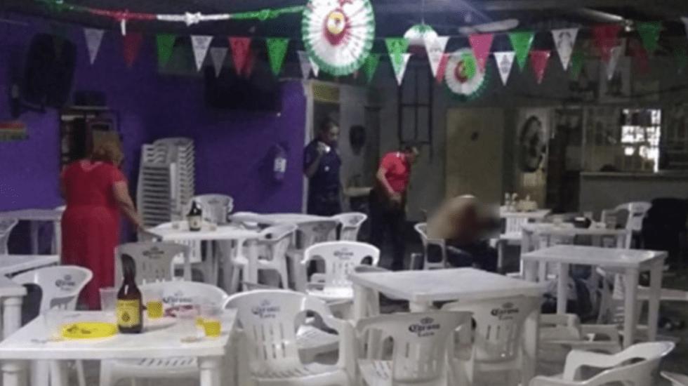 Ataque a bar deja al menos cinco muertos en balacera en Tabasco