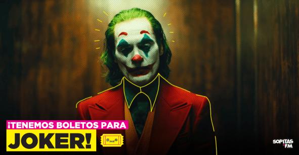 ¡Oh, sí! Te llevamos a la función antes del estreno de 'Joker'