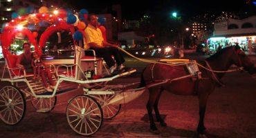 ¡Bravo! Acapulco prohíbe el uso de caballos para las calandrias